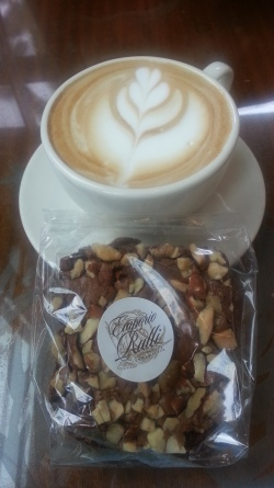 Morning coffee & brownie