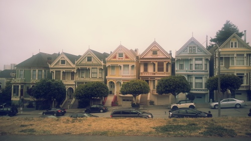 Pretty houses (painted ladies)
