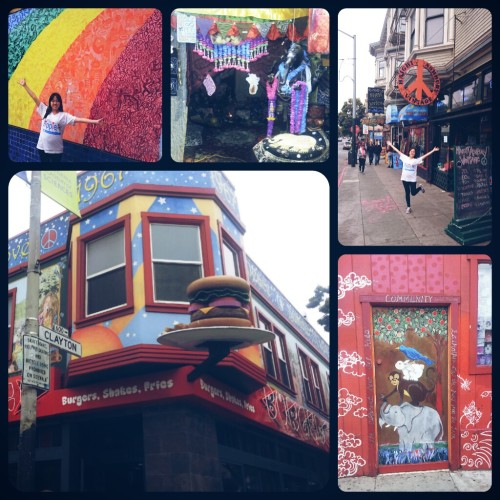Height & Ashbury, where the Hippie movement started