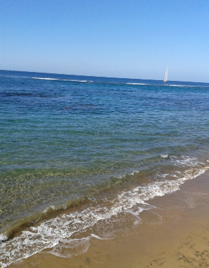 And this is the beach on a good day.