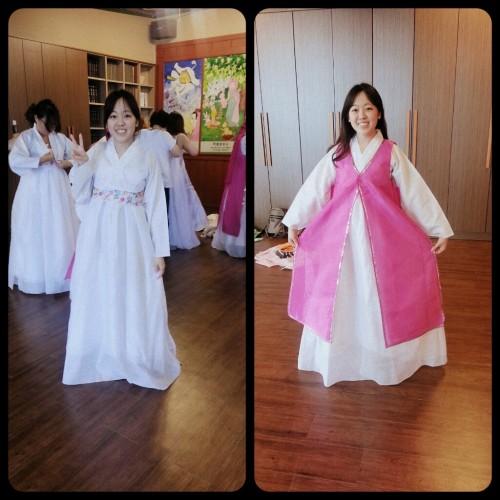 Disfrazada de Coreanita