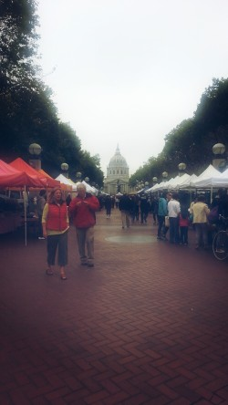City Hall and the Farmers' Market near Civic Center