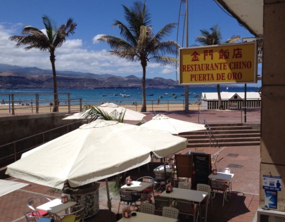 My restaurant next to the beach <3