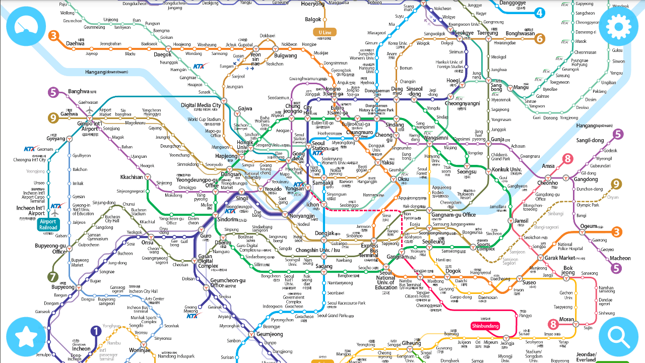 Guide on Public Transportation in Seoul Subway whereismimiyu