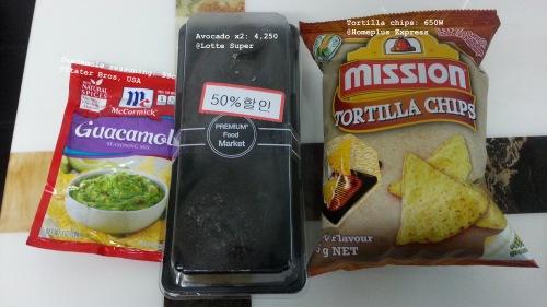 02. Guacamole Ingredients