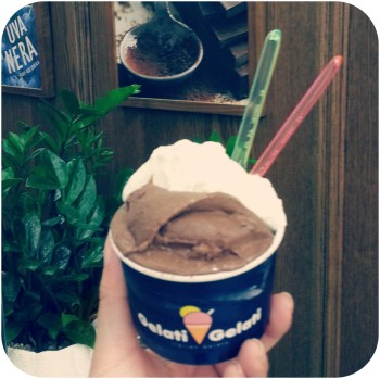 gelato choco coconut
