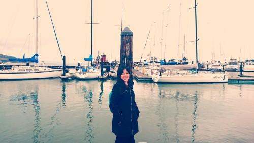 mimi at port