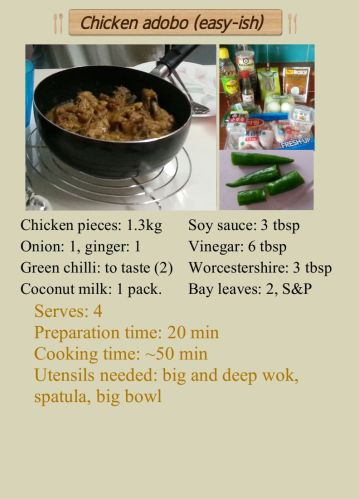 Recipe_Chicken adobo