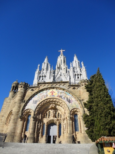 Tibidabo church