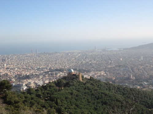 Views from the Tibidabo