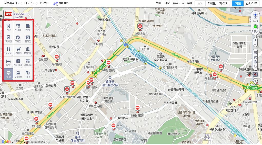 Digging into Daum Maps – whereismimiyu on