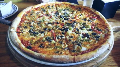 5. whole pizza