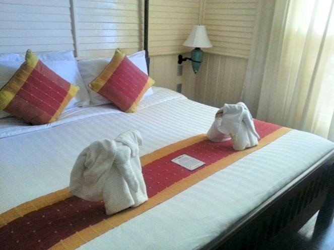 Buddy Lodge Hotel elephant towels