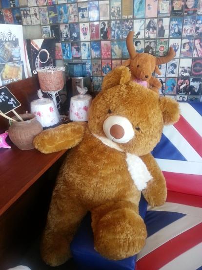 Cofee shop bear
