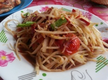 resto Papaya salad