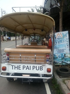 The pai club tuktuk