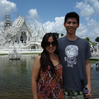 White temple couple