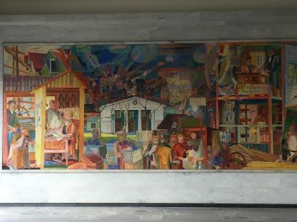 03. CityHall fresco painting