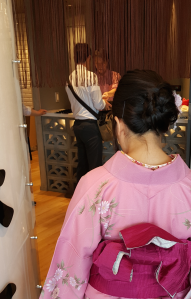 Kimono back